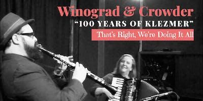 100 Years of Klezmer — Winograd & Crowder