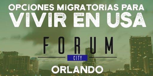 Forum gratuito - Opciones migratorias para vivir en USA