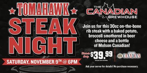 Tomahawk Steak Night (Fort McMurray)