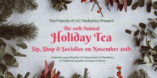2019 Holiday Tea for UIC Pediatrics