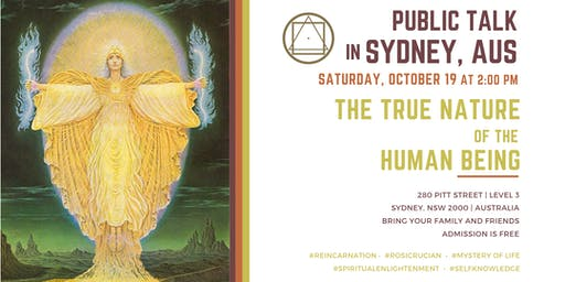 "Public Talk in Sydney  - ""The True Nature of the Human Being"""