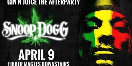 Gin N Juice - The Afterparty tickets