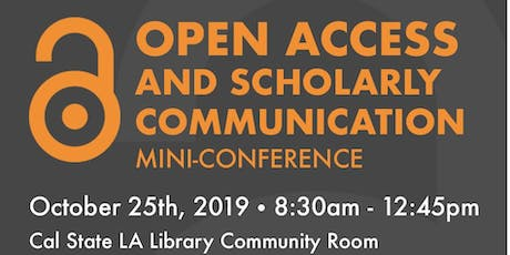 Open Access and Scholarly Communication Mini-Conference tickets