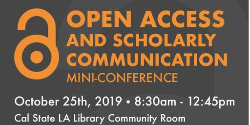 Open Access and Scholarly Communication Mini-Conference
