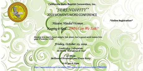 Serendipity- 2019 Women's Word Conference tickets