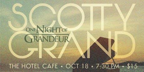 """""""ONE NIGHT OF GRANDEUR"""" tickets"""