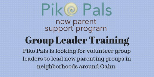 Piko Pals Group Leader Training - October 28th, 2019