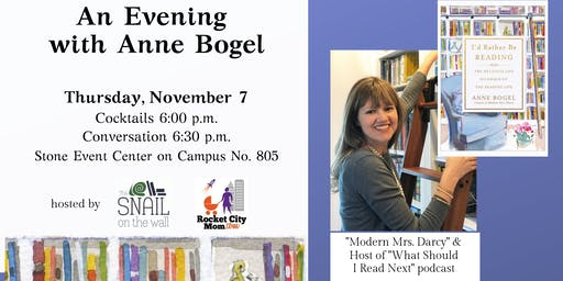 An Evening with Anne Bogel