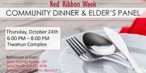 Red Ribbon Community Dinner