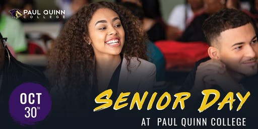 Paul Quinn College Senior Day 2019