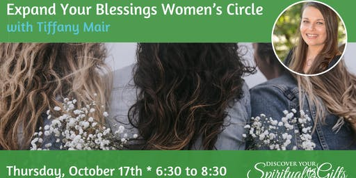 Expand Your Blessings Women's Circle