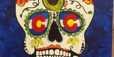 Sugar Skull Painting!