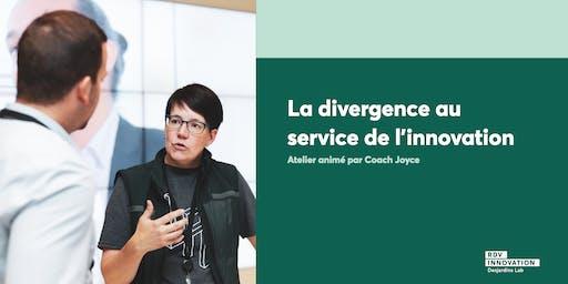 Atelier de Coach Joyce: La divergence au service de l'innovation (Lévis)