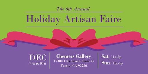 6th Annual Holiday Artisan Faire 2019