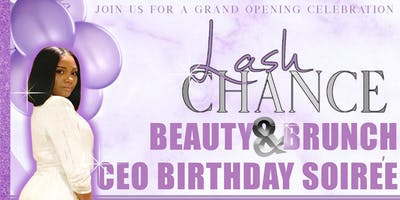 Lash Chance Beauty & Brunch CEO Birthday Soiree