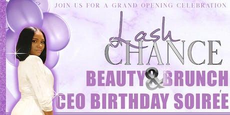 Lash Chance Beauty & Brunch CEO Birthday Soiree tickets