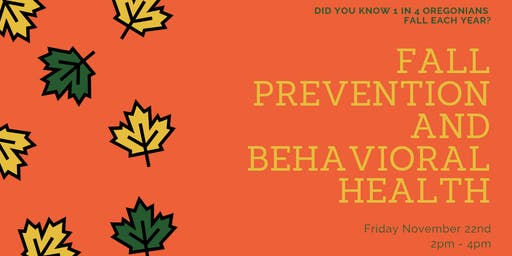 Fall Prevention and Behavioral Health