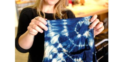 Introduction to Shibori: Naturally dye with indigo (2019-12-11 starts at 7:00 PM)
