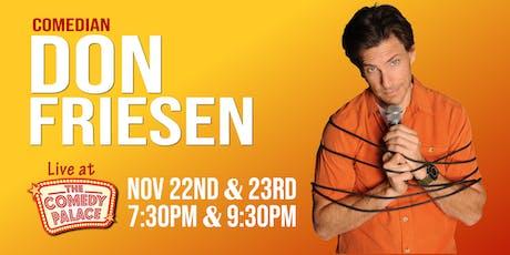 Don Friesen tickets