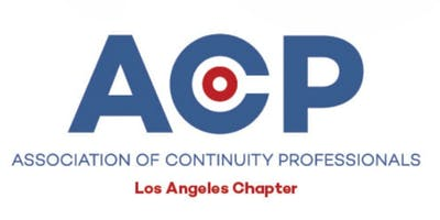 ACP Los Angeles - Chapter Meeting December 10 2019