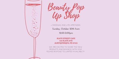 Beauty Pop Up Event tickets