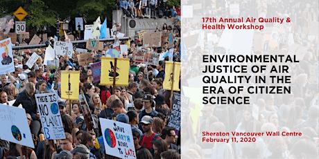 17th Annual Air Quality & Health Workshop tickets