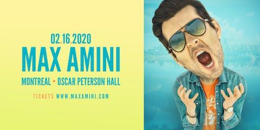 Max Amini Live in Montreal 2020 Tour