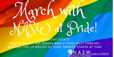 March with NASW in the Pride Parade tickets