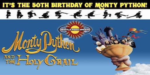 MONTY PYTHON & THE HOLY GRAIL - Celebrate Monty Python's 50th Birthday!