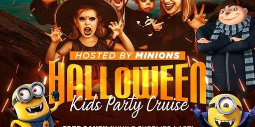 KIDS HALLOWEEN CRUISE PARTY :: HOSTED BY MINIONS :: 2  DAYS TO CHOSE FROM