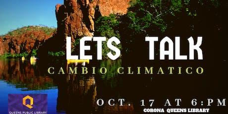 Let's Talk Cambio Climático tickets
