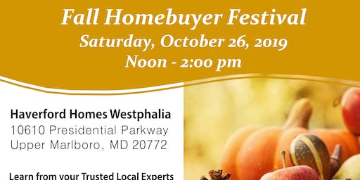Home Buyer Fall Festival Info Session