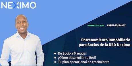 Red Neximo  - De Socio a Manager - Merida boletos