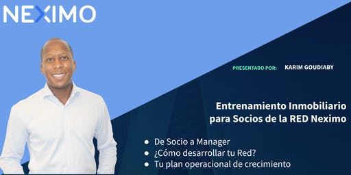 Red Neximo  - De Socio a Manager - Merida