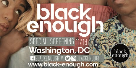 Black Enough DC Screening tickets