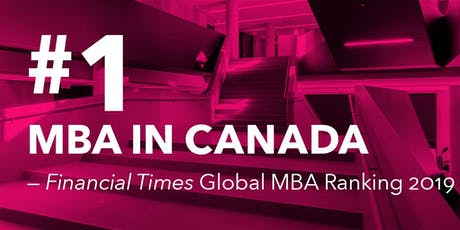 Rotman Open House for the Full-Time MBA Program tickets