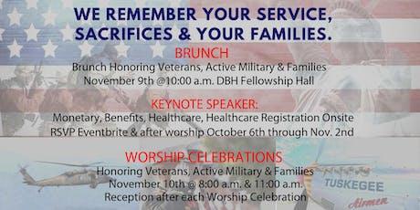 Veterans & Family Brunch 2019 tickets