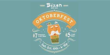Oktoberfest 2019 at Bizen Beer Bar tickets