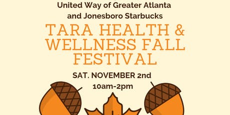 Tara Health & Wellness Fall Festival tickets