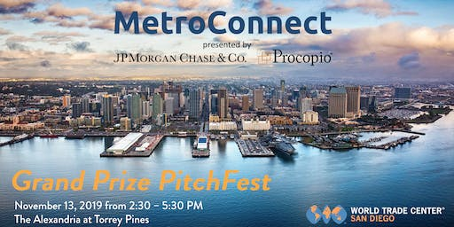MetroConnect Grand Prize PitchFest 2019