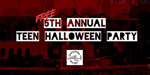 5th Annual Teen Halloween Party!