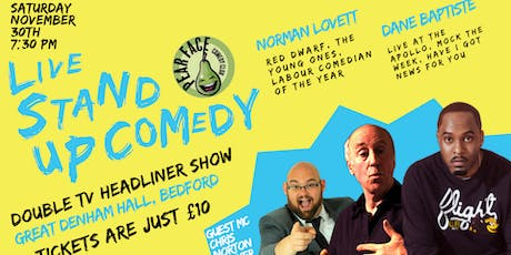 Live Stand up Comedy with Headliners Dane Baptiste and Norman Lovett tickets