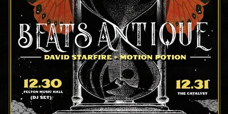 Beats Antique (DJ Set) with David Starfire & Motion Potion tickets