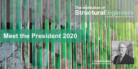 Meet the IStructE President 2020, Don McQillan tickets