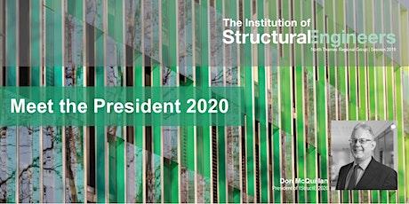 Meet the IStructE President 2020, Don McQillan tickets
