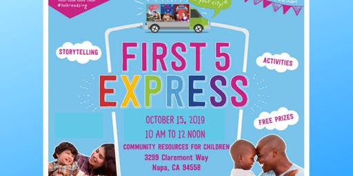 First 5 Express Visits CRC!