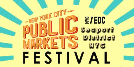 New York City Public Markets Festival tickets