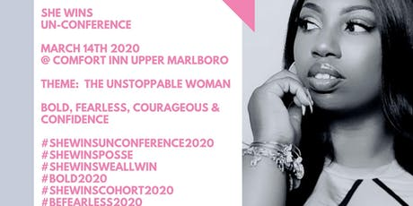 SHE WINS  UN-CONFERENCE   2020 tickets