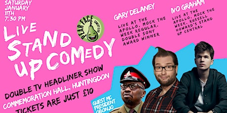 Live Stand up Comedy with Headliners Gary Delaney and Ivo Graham tickets