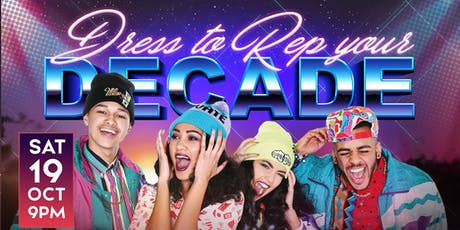 Rep Your Decade: Costume Party tickets
